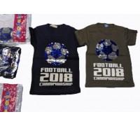 Футболка для мальчиков, паетки, 7 - 14 639