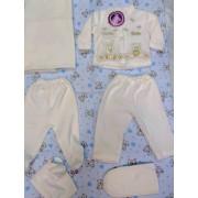 Комплект для новорожденных 6 пр. велюр CANDY 1249