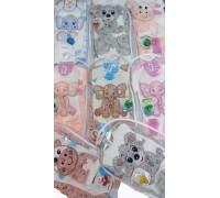 Комплект для новорожденных 7 пр. велюр ККТ-016
