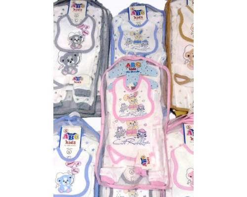 Комплект для новорожденных 5 пр. Chico Baby КТ-010