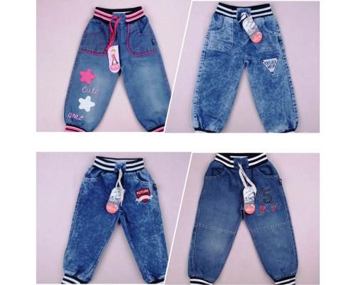 Штаны джинс. 1,2,3, (Турция) 077