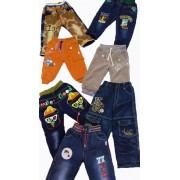 Штаны джинсы на флисе Акция 1214