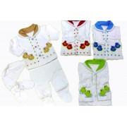Комплект для новорожденного 4 пр. Chico Baby ККТ-004