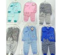 Комплект для новорожденных 4 пр. BUNNY ККТ-017