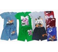 Костюм: футболка, шорты 6-9 АС-004