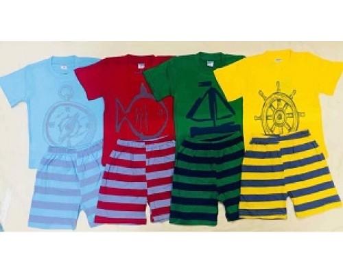 Костюм мал. футболка+шорты